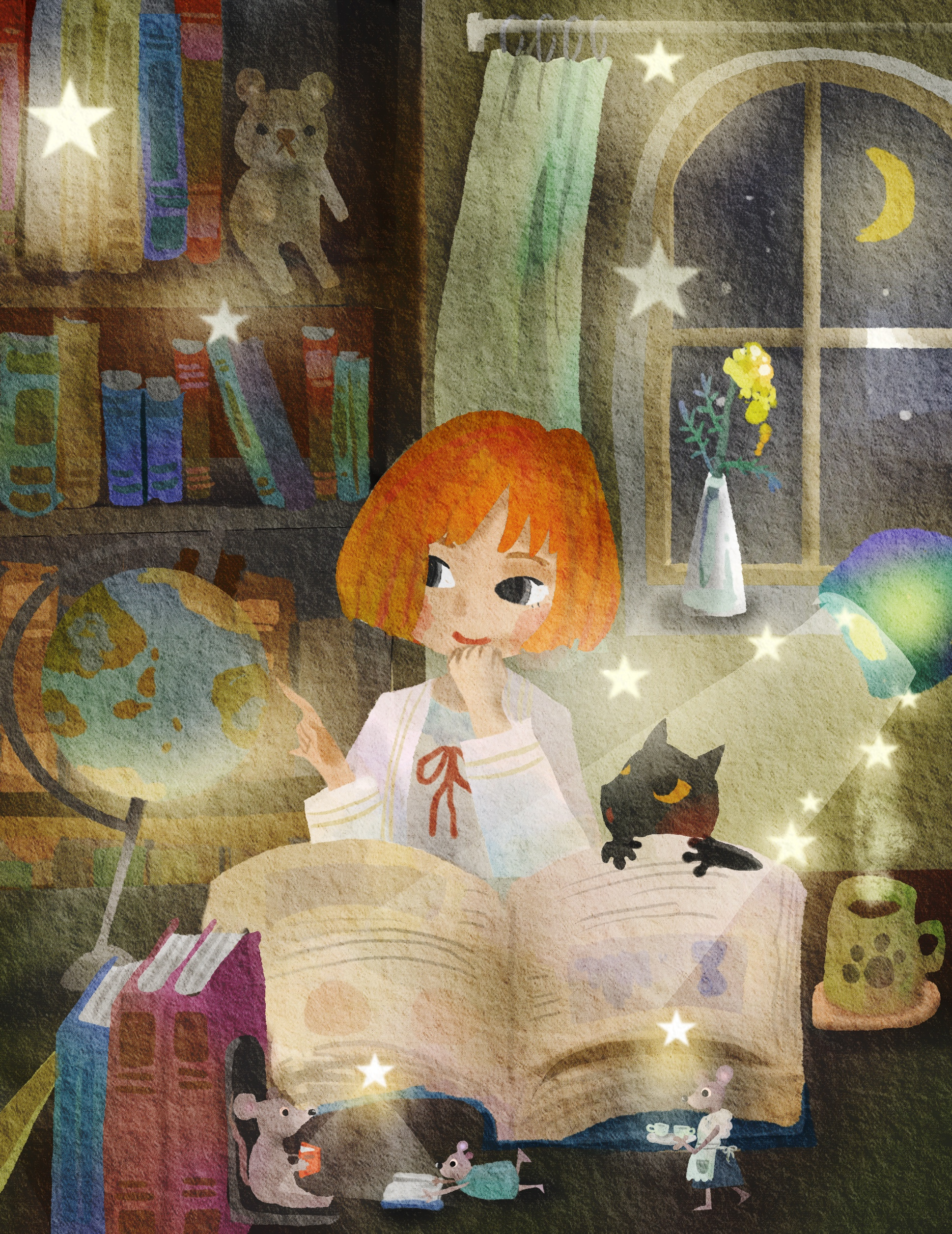 Witch's Day Read A Book